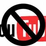 Youtube 1 ay süreyle kapatıldı!